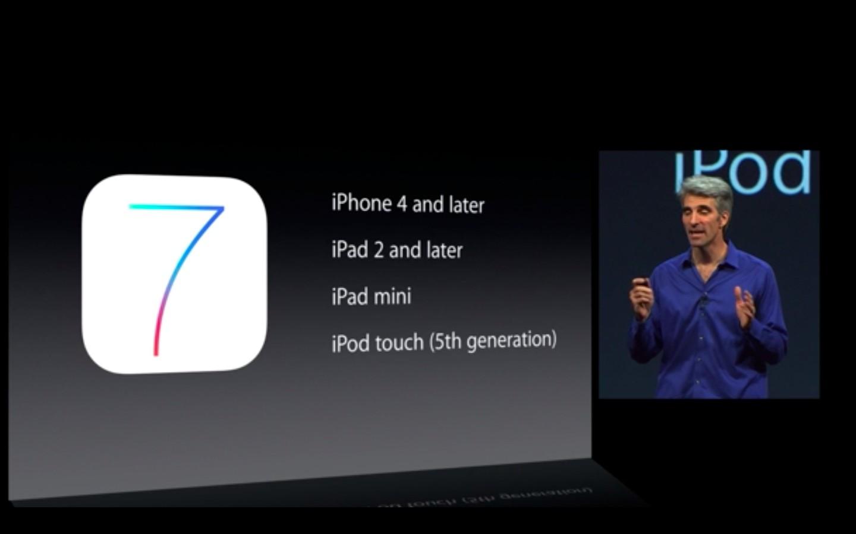 Apple: iOS 7 mit Multitasking und neuem Interface - iOS 7 (Bild: Apple/Screenshot: Golem.de)