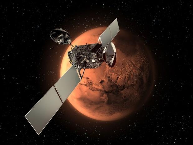 Die Europäer wollen ebenfalls zum Nachbarplaneten: Exomars heißt das Projekt der Esa (Bild: Esa)