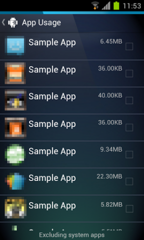 Uninstaller für Android (Quelle: AVG)