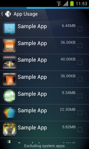 Uninstaller für Android (Quelle: AVG)