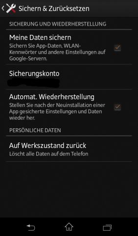 Das Speichern von WLAN-Kennwörtern in den Android-Stellungen (Screenshot: Golem.de)