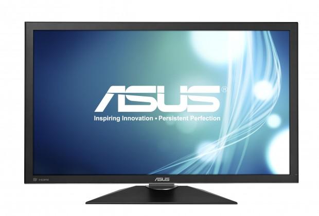 Der Standfuss des 4K-Monitors... (Bilder: Asus)
