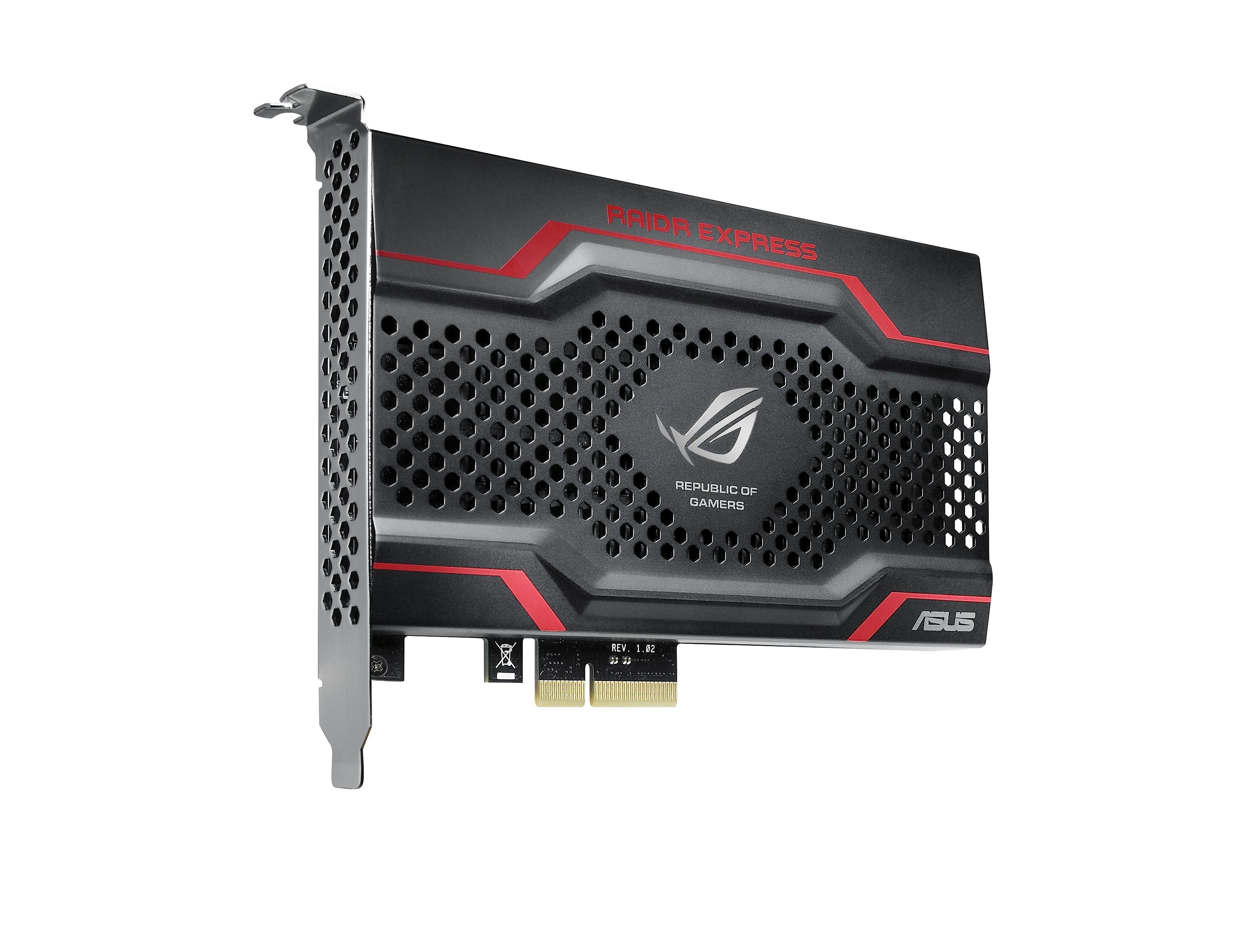 Asus Raidr: Schnelle PCI-Express-SSD bootet auch mit altem Bios -