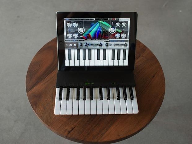 C.24-Keyboard: Klavierspielen mit dem iPad - C.24-Keyboard (Bild: Kickstarter)