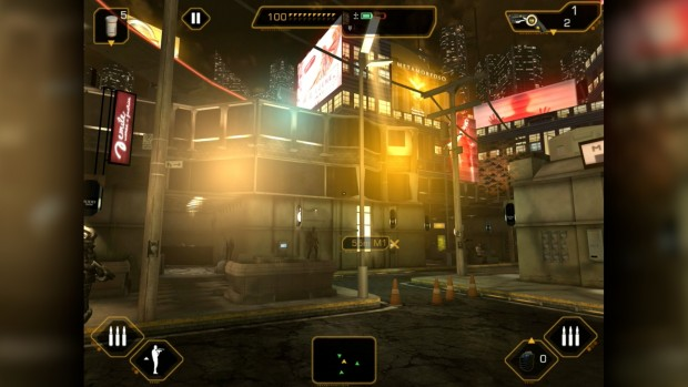 Deus Ex: The Fall (Screenshot: Golem.de)