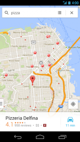 google maps 7 f r android button zum herunterladen von offlinekarten nachgef gt. Black Bedroom Furniture Sets. Home Design Ideas