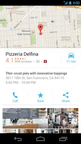 Google Maps 7 für Android auf Smartphones (Quelle: Google)