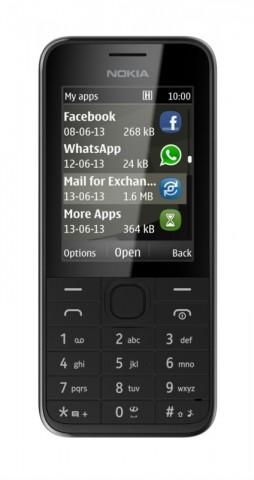 Nokias 208 (Bild: Nokia)