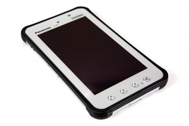 Das Panasonic Toughpad JT-B1 ist ein robustes Android-Tablet. (Bilder Nina Sebayang/Golem.de)