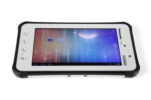 Das Display des Android-Tablets kann nicht überzeugen.