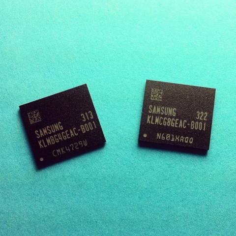 Die neue eMMC Pro mit eMMC-5.0-Standard (Bilder: Samsung)