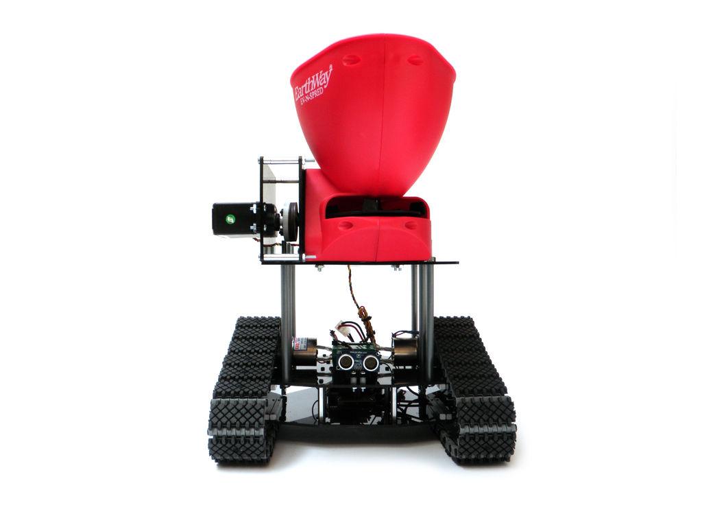 Saatroboter: Gärtnern mit Arduino auf Ketten - Seed Spreading Robot (Bild: Instructables/by-nc-sa)
