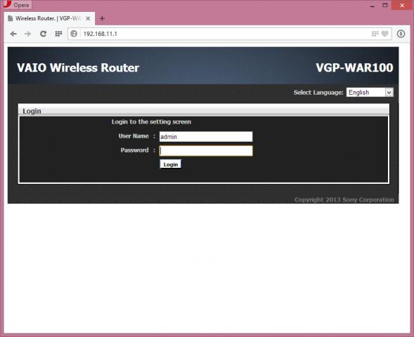 Sonys Anklick-Router... (Screenshot: Golem.de)