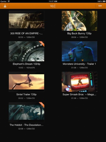 VLC-Player 2.0.1 für iOS (Bild: Videolan-Projekt)