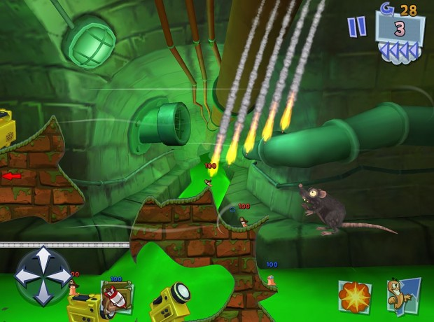 Worms 3 (Bilder: iOS)