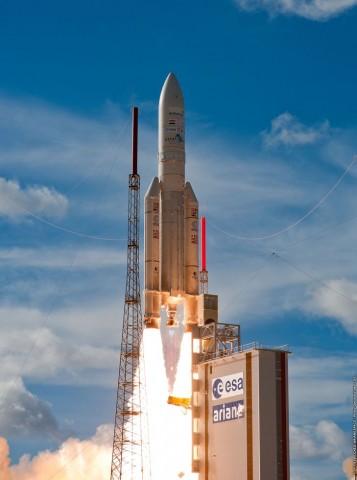 Start der Ariane 5 am 25. Juli 2013 (Foto: Esa/CNES/Arianespace)