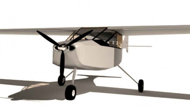Das Open-Source-Flugzeug Makerplane...(Bild: Makerplane)