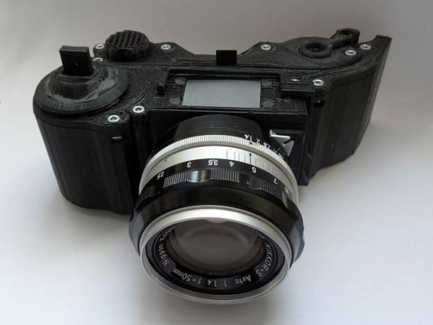 Open Reflex - die Kamera aus dem 3D-Drucker (Foto: Leo Marius/CC-By-SA)