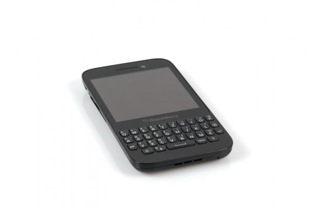 Blackberrys neues Tastatursmartphone Q5 (Bilder: Nina Sebayang)