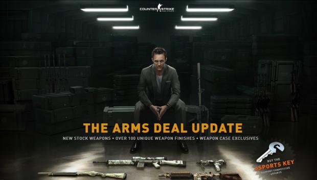 Das Arms Deal Update für Counter-Strike bringt Waffen-Skins mit sich. (Bilder: Valve/Screenshot Golem.de)