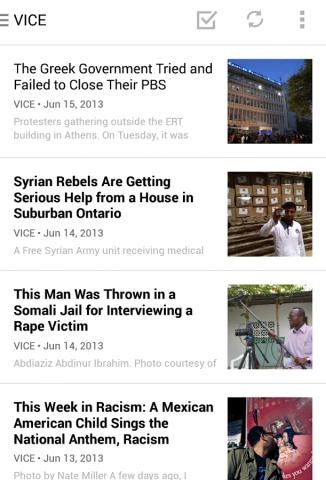 Digg Reader für Android (Bild: Digg)