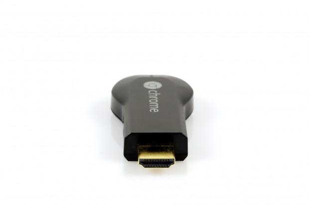 Medieninhalte werden nicht vom Smartphone oder Tablet gestreamt, sondern vom Chromecast per WLAN direkt aus dem Internet bezogen.