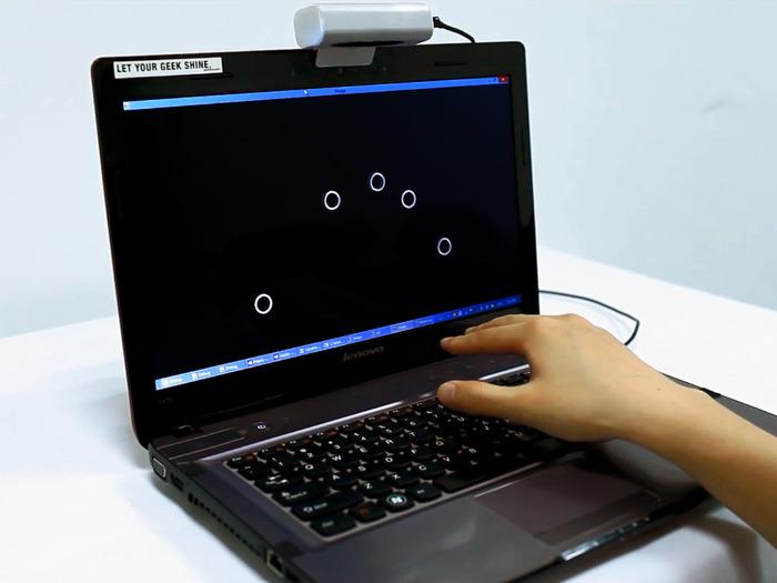 3D-Multitouch-Sensor: Haptix macht jede Oberfläche zum Touchpad - Haptix (Bild: Kickstarter)