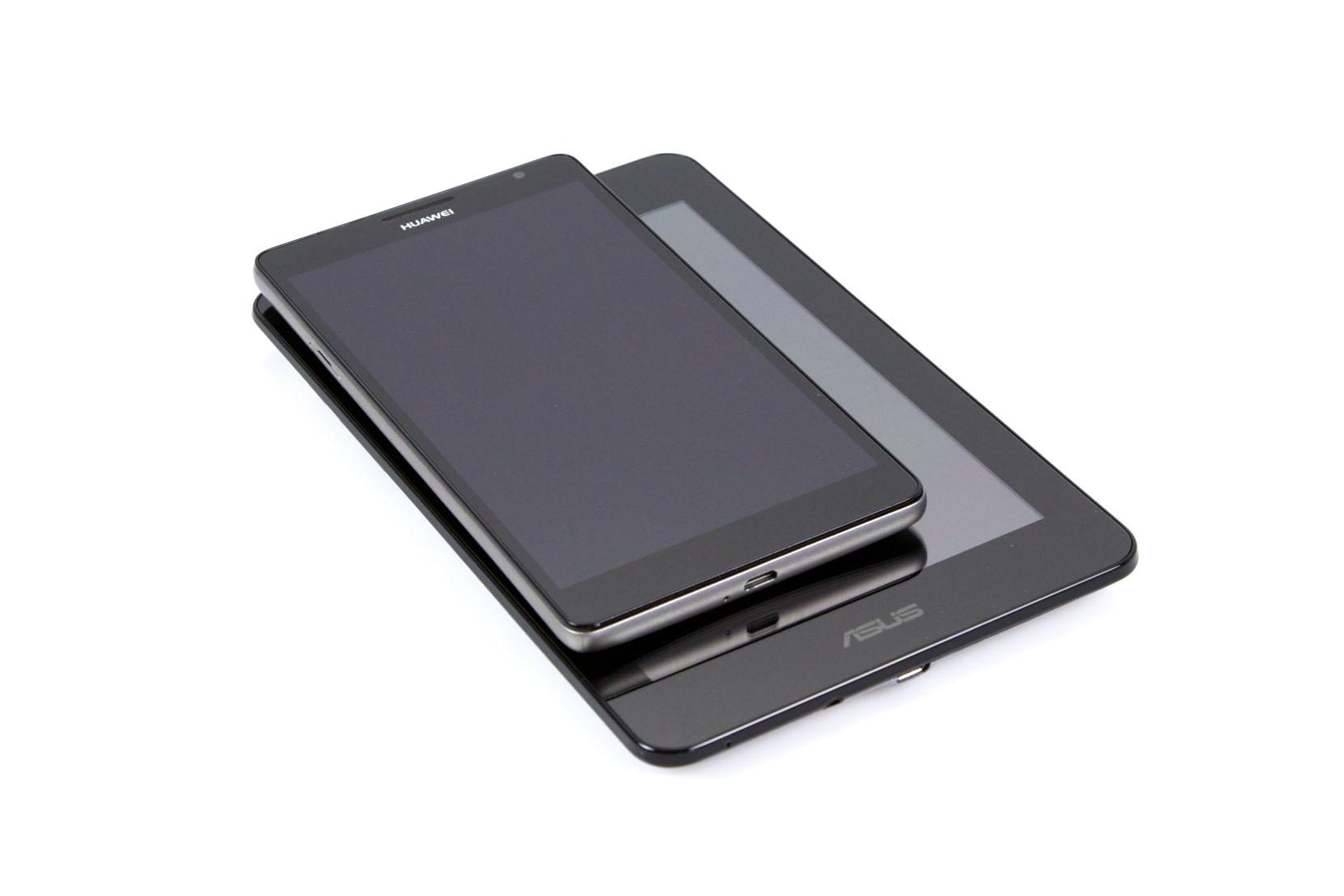 Huawei Ascend Mate im Test: Groß in fast jeder Hinsicht - Das Ascend Mate ist deutlich kompakter als das Asus Fonepad. (Bild: Nina Sebayang/Golem.de)