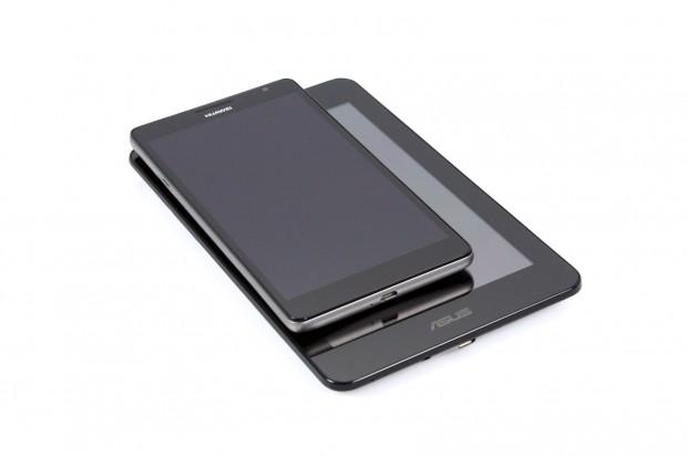 Das Ascend Mate ist deutlich kompakter als das Asus Fonepad. (Bild: Nina Sebayang/Golem.de)