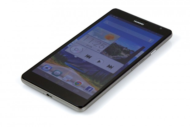 Das Huawei Ascend Mate ist aktuell eines der größten Smartphones. (Bild: Nina Sebayang/Golem.de)