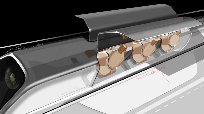 Hyperloop: Menschliche Rohrpost mit 1.220 km/h - 28 Passagiere sollen in einer Hyperloop-Kapsel Platz finden.
