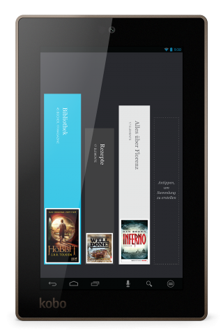 Das Arc 7 ist das günstigste der drei neuen Tablets. (Bild: Kobo)
