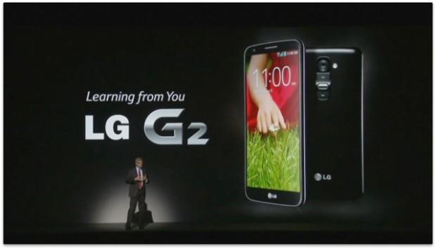 Das neue G2 von LG (Screenshots: Golem.de)