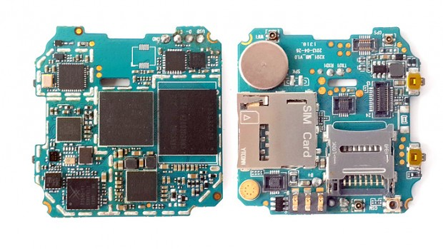 Board der Omate True Smart (Bild: Kickstarter)