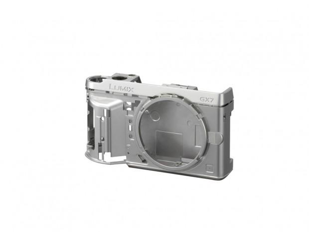 Metallgehäuse der Panasonic Lumix GX7 (Bild: Panasonic)