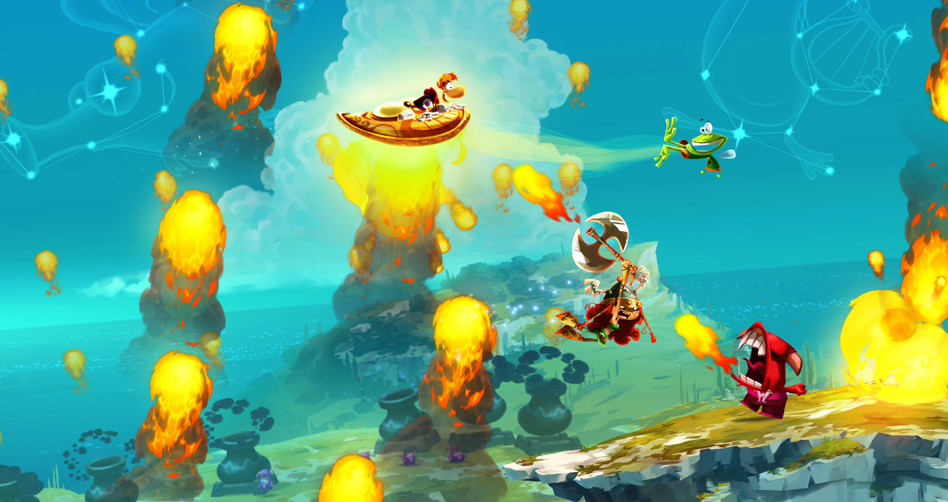 Test Rayman Legends: Jump-'n'-Run-Held mit Taktgefühl - Rayman Legends