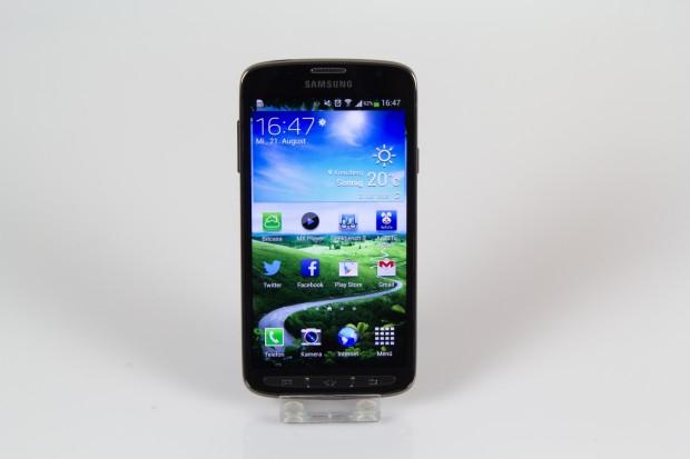Das Galaxy S4 Active von Samsung (Bild: Tobias Költzsch)