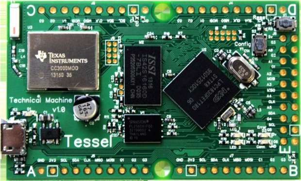 Tessel mit Node.js (Bilder: Technical Machine)