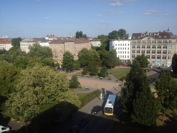 Eine Außenaufnahme mit der rückseitigen 3-Megapixel-Kamera. (Bild: Golem.de)