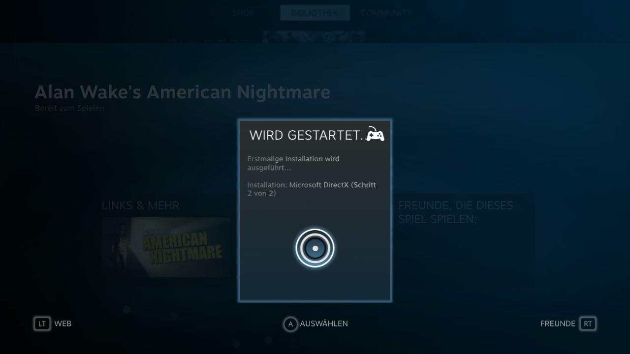 Nvidia Shield im Test: Android-Gameboy auf Steroiden - ... die Installation funktioniert ebenfalls. (Screenshot: Golem.de)