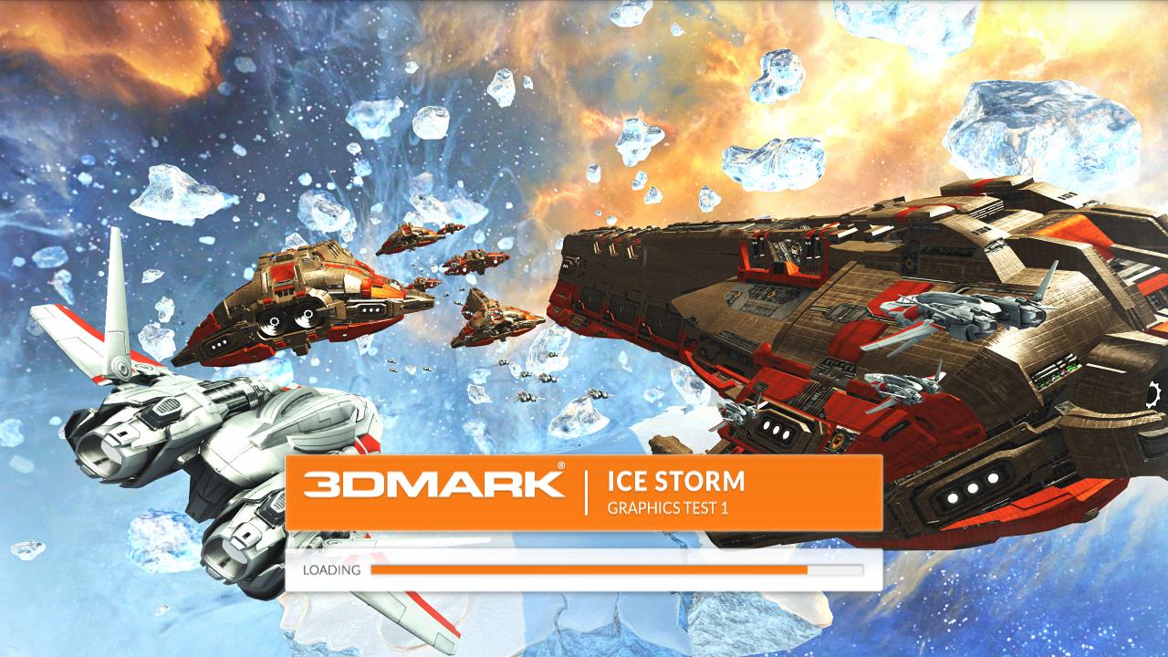 Nvidia Shield im Test: Android-Gameboy auf Steroiden - Der erste Grafiktest des 3DMark Ice Storm (Screenshot: Golem.de)