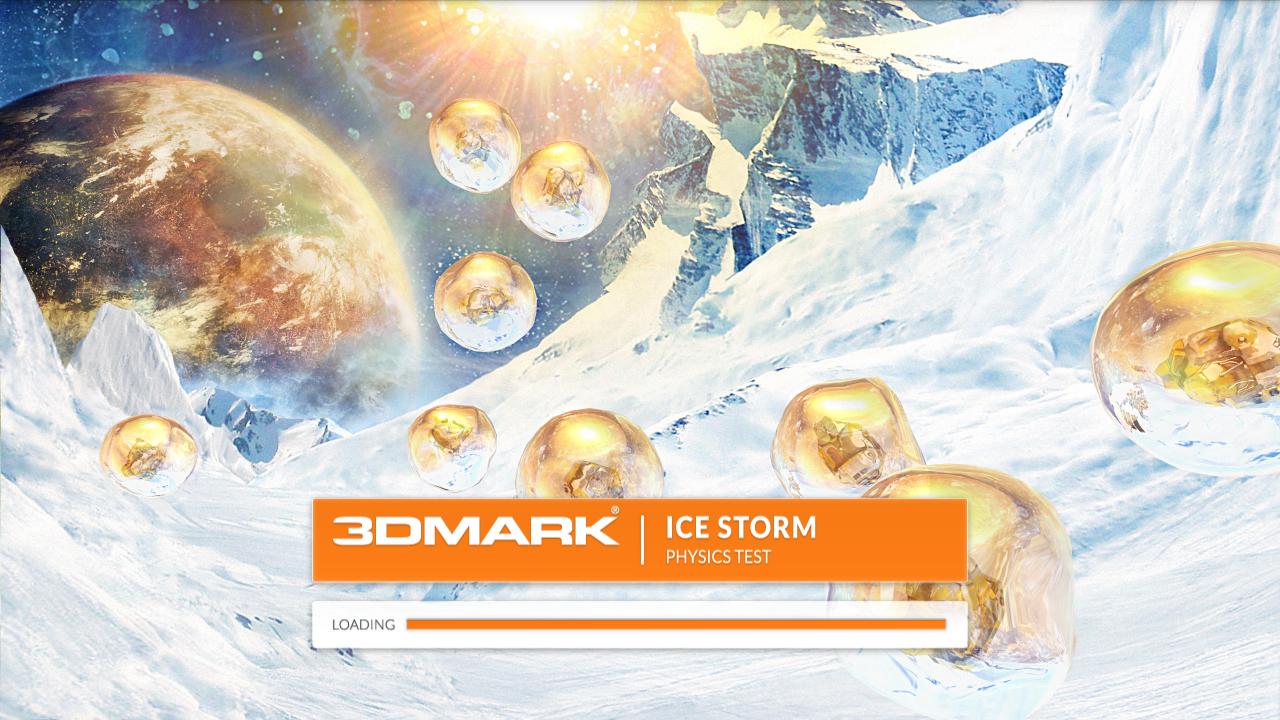 Nvidia Shield im Test: Android-Gameboy auf Steroiden - Der Physiktest des 3DMark Ice Storm (Screenshot: Golem.de)