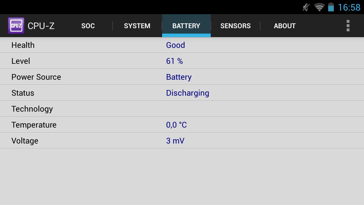 Nvidia Shield im Test: Android-Gameboy auf Steroiden - ... dem Akku ... (Screenshot: Golem.de)