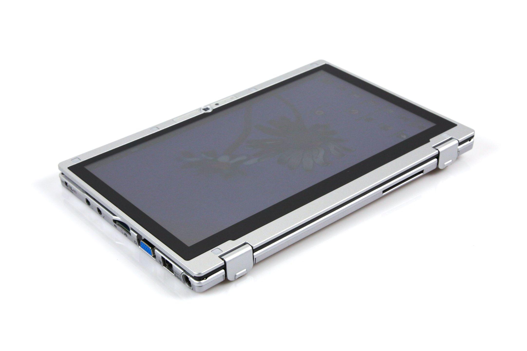 CF-AX2 im Test: Dünnes Toughbook mit Notfallakku und nerviger Tastatur - ... das in ein Tablet verwandelt werden kann. (Foto: Nina Sebayang/Golem.de)