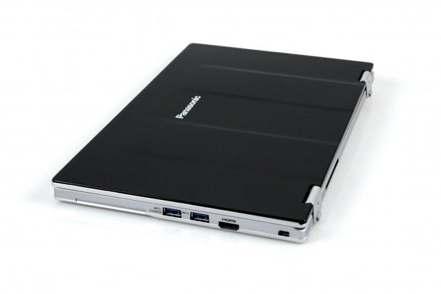 Panasonic verzichtet auf eine  schlank aussehende Keilform. (Foto: Nina Sebayang/Golem.de)