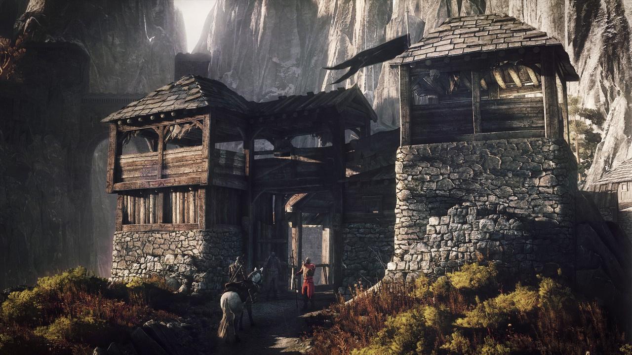 The Witcher 3: Des Hexers haarige Entwicklung - ... macht sich auf, mit dem Jarl in seiner Burg zu sprechen. (Screenshot: CD Projekt Red)