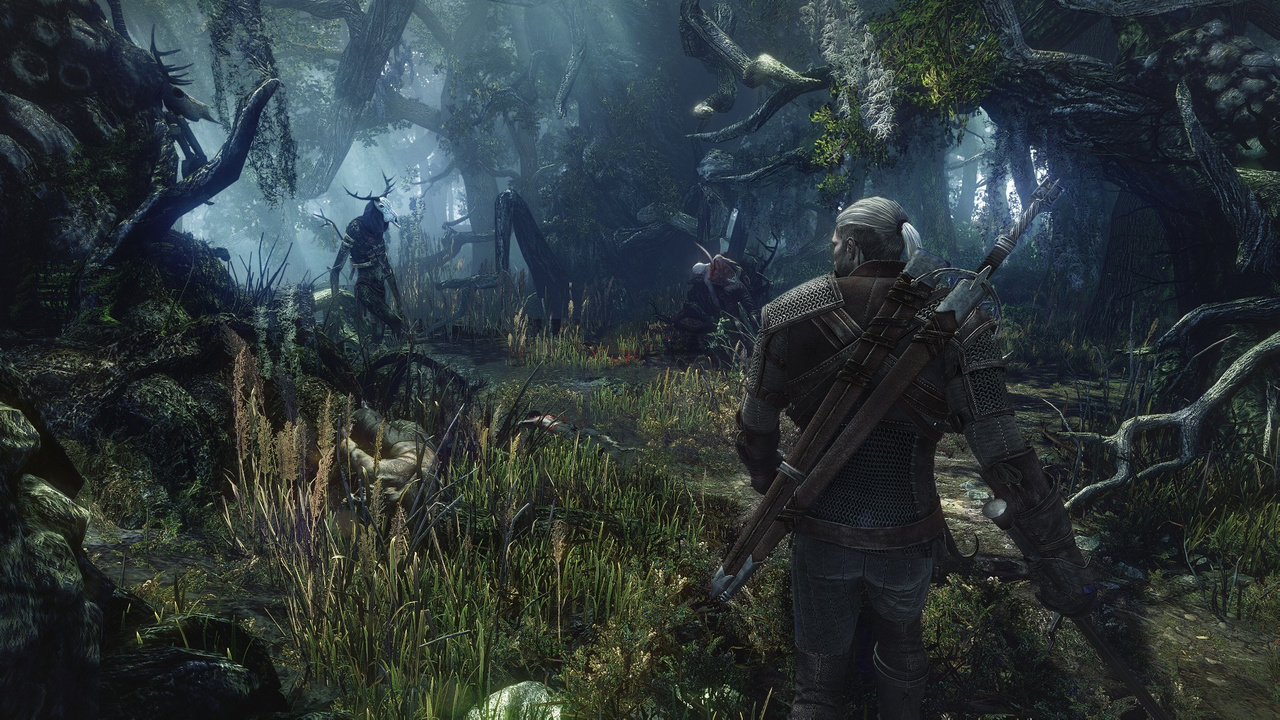 The Witcher 3: Des Hexers haarige Entwicklung - Dieser berichtet von einem Leshen, den Geralt zur Stecke bringen muss. (Screenshot: CD Projekt Red)