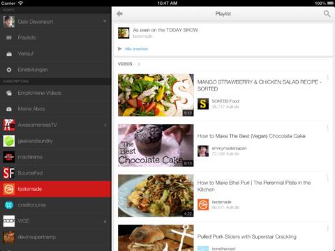 Youtube für Android und iOS: Neue Bedienoberfläche mit internem Multitasking -