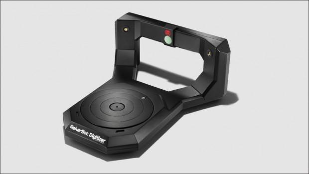 Der 3D-Scanner Digitizer ermöglicht es, Gegenstände zu scannen, um sie anschließend auf einem 3D-Drucker nachzubauen. (Bild: Makerbot)