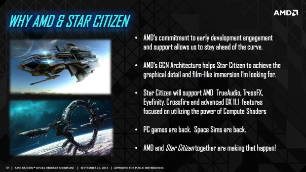 Cloud Imperium Games über Star Citizen auf dem AMD GPU14 Techday (Bild: AMD/Cloud Imperium Games)